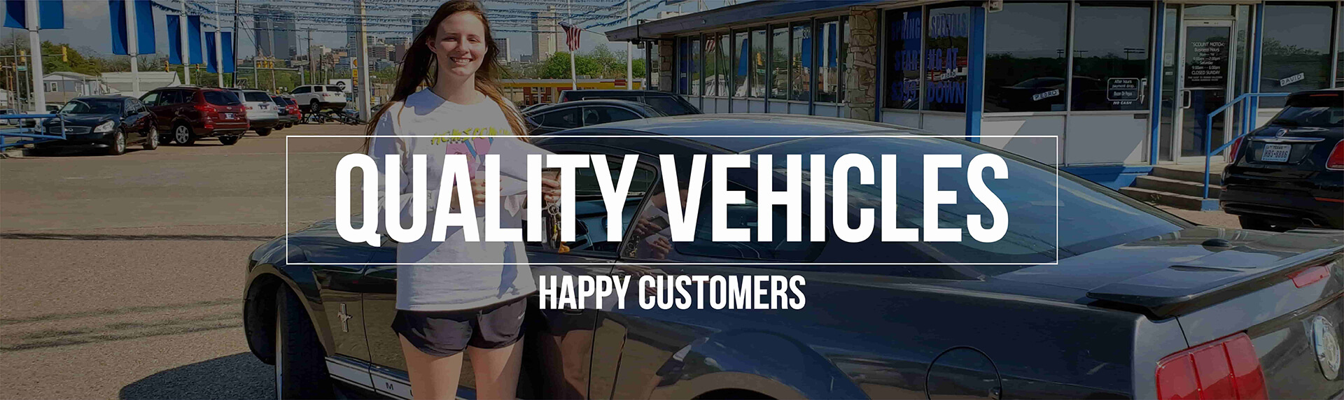 quality vehicles at discount motors