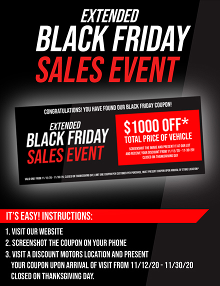 Black Friday Sales event image